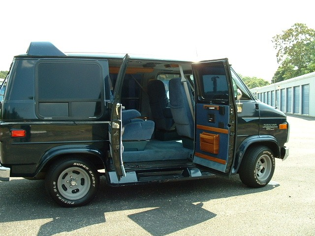 show conversion 1993 chevy van custom