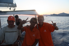 Captain Ilias and crew