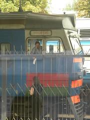Train to Minsk in Brest, Belarus (Timon91) Tags: station train railway brest belarus minsk trainamsterdammoscow
