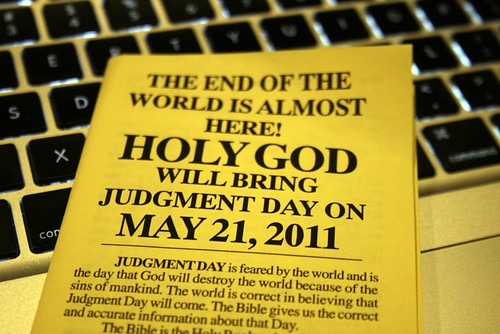 judgment day 2011. Judgement Day on May 21, 2011