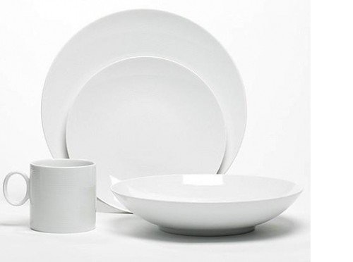 These modern plates and bowls from CB2 are less fussy and awfully pretty.  sc 1 st  Sweeten Blog & Great White
