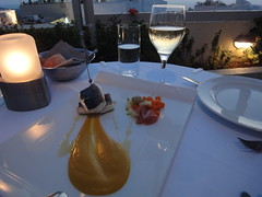 1800 サントリーニ島・イアのかなりおいしいレストラン