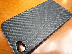 TUNEWEAR Carbon Look for iPhone 4