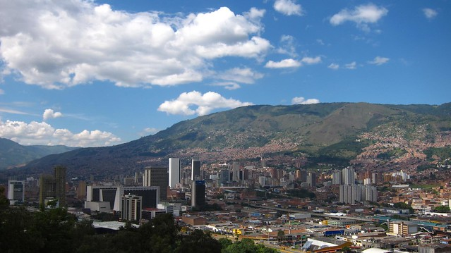 Downtown Medellin, also known as Centro