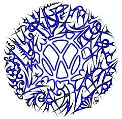 VW Logo Wild Tribal - © by H2O74 (H2O74) Tags: wild wallpaper abstract art cars car sign by vw digital germany emblem golf volkswagen logo design dangerous artwork arte symbol mark background label kunst tag sting digitale © von creative tribal dessin h2o fantasy 01 german backdrop hd blade wallpapers gti tuning wolfsburg blades hg spiny airbrush abstrakt gefährlich knotwork armed unfriendly stachelig dornen zeichen fantasie kreativ stachel tribals spitzen abstrakte motiv stacheln fantastisch künstlerisch computerkunst emblème bewaffnet abweisend spitzig dornig waffenschmiede tuningszene kunstform h2o74