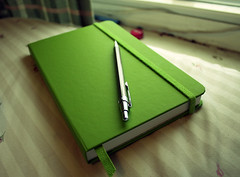 ecosystem notebook (resurrectedReplayer) Tags: green notebook ecosystem