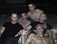 Fire Island Michael Nonie Rafael David and Ernesto