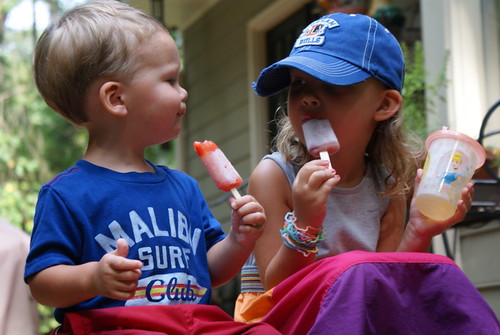 Buddies with Popsicles