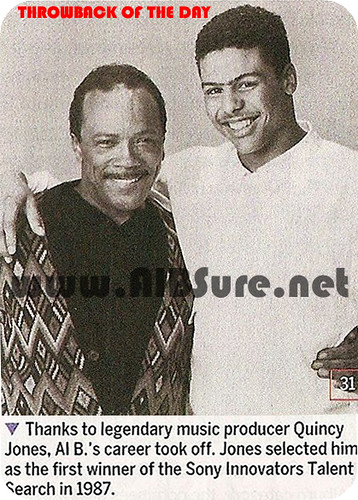 Al B. Sure! with Quincy Jones