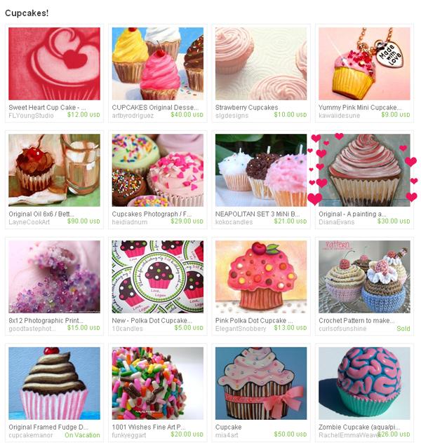 cupcakes treasury