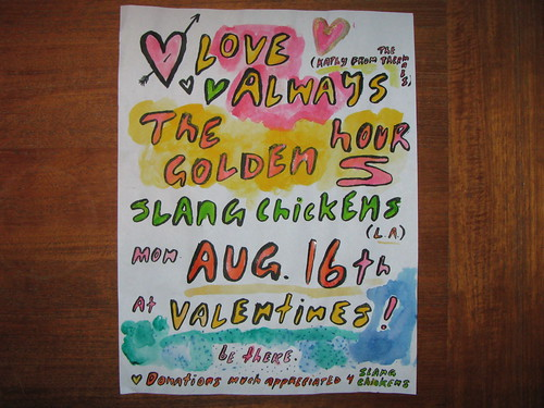 Love Always, Golden Hours, Slang Chickens at Valentines