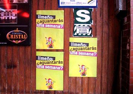 LaGranSemanaDeLima2006 - afiches