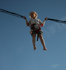 """France, Pas-de-Calais (62), Stella-Plage : """" trampoline """" 3"""