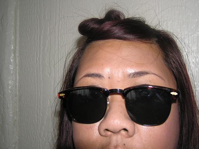 Clubmaster Sunglasses.