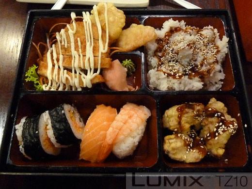Shuji Sushi Bento box