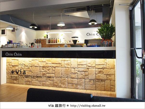 【台北東區美食】時尚午茶首選~Chin Chin Cafe蜜糖吐司9