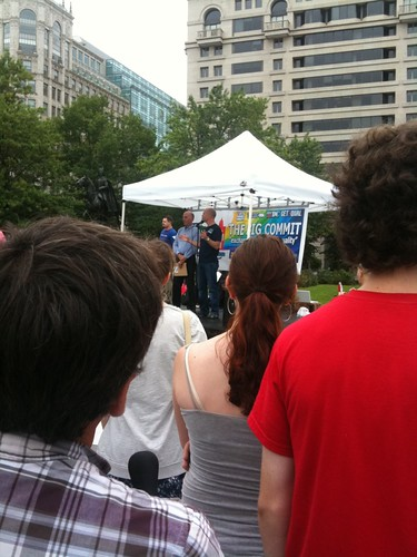 DC Councilmember Phil Mendelson, lead sponsor of the Marriage Equality Act