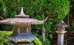 Lanterns (JapanDave) Tags: green japan photoshop canon aperture  hdr aichiprefecture stonelantern   mikawa photomatixpro eos450d   davidlaspina rebelxsi kissx2 chubu 1855efsis  topazadjust okazakicity shiratorishrine japandave japandavecom toro honshu