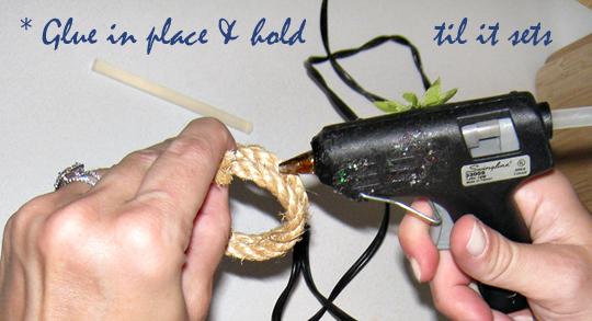 Rope Napkin Rings DIY-Beach Table Decor -4