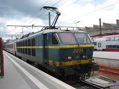 NMBS 2004 Luxembourg (Arthur-A) Tags: railroad train tren belgium belgique belgie trains luxembourg railways luxemburg trein cfl comboios nmbs zuge