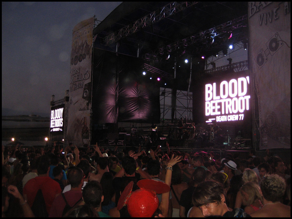 Bloody Beetroots DeathCrew 77 @ Creamfields Andalucia 2010