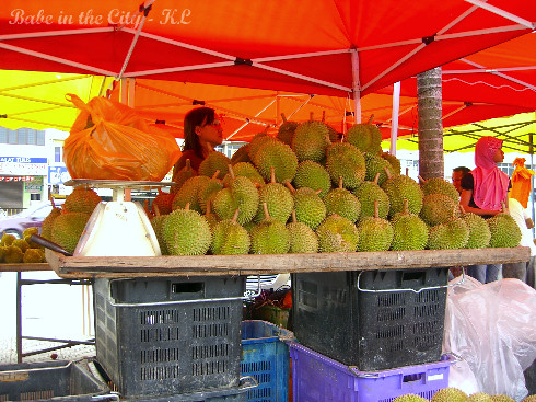 Loads of durians