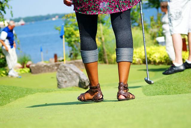 kavitha spelar golf