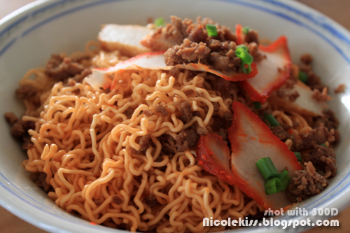 spicy kolo mee