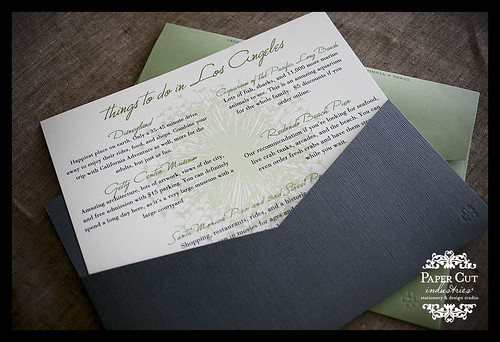 Custom Wedding Invitations: Extra Card Things to Do