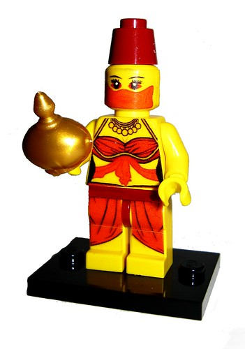 Genie Collectible Minifig not quite