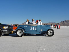 Bonneville 2010.309 (pedrovonpetrol) Tags: ford speed modela 1931 vintage utah traditional salt racing flats land hotrod bonneville milestone flathead wendover 2010 roadster 544 scta speedweek fenderless