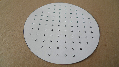 2. cut out coaster template