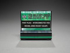 Flickr Lego Military Group 2010 Award (BMW_Indy) Tags: jones lego indiana awards