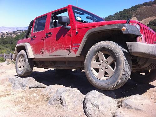 jeep offroad 4x4 hills jk hollister