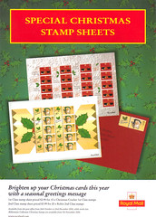 2000 Christmas Stamp Sheets
