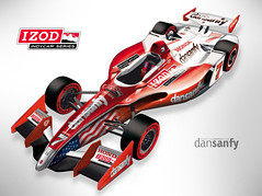 New Fan Designed 2012 Aero Package (IZOD IndyCar Series) Tags: 7 racing fans 2012 indycar izod dallara indycarcom danielesanfilippo dansanfy