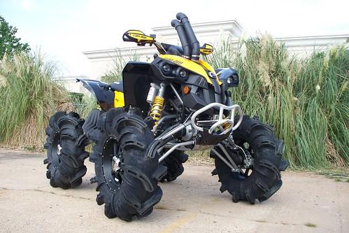 "Flickriver: Photoset 'Can-am Renegade 6"" CATVOS lift' by ..."