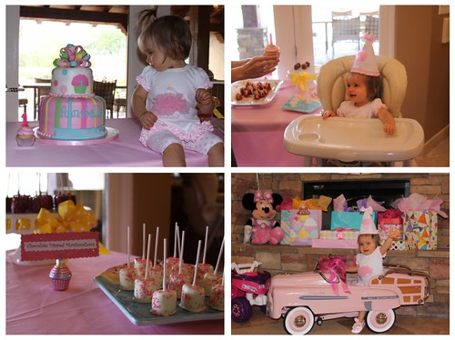 Annabelle's Cupcake themed First Birthday Celebration {customer photos}