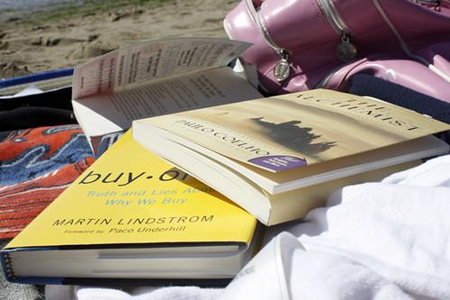 Beach reading materials