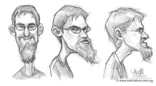 thumbnail sketches of Scotts