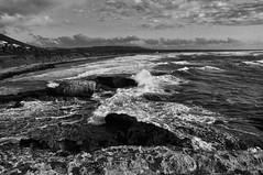 Rough (ph.themine) Tags: sardegna sea nikon rocks mare waves sardinia estate sigma 1770 onde scogli scogliera mosso oristano d90 torredelpozzo torresuputtu biancoenerobwaperturesilverefex