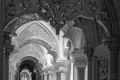 Arches of the Monserrate Palace (mikel.hendriks) Tags: building portugal museum architecture mix gallery european arch architecturaldetail interior interieur sintra arcade 19thcentury indoor arches palace unesco worldheritagesite indoors galleries villa oriental palaces mixture architectuur boog gebouw paleis bogen nineteenthcentury romanticism architecturaldetails europese extravagant romantiek eclecticism palciodemonserrate oosterse bouwwerk werelderfgoed canoneos50d paleizen eclecticisme monserratepalace 19eeeuw culturallandscapeofsintra negentiendeeeuw sigma1770mmf284dcmacrooshsm architectonischedetails palatialvilla orintaalse architectonischdetail cultureellandschapvansintra