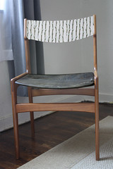 Danish Chair - Idea - Pussy Willow Fabric