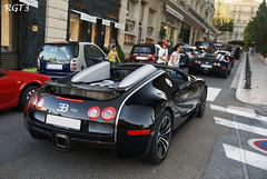 Bugatti's Veyron's x3 (RGT3 Pics) Tags: red white black paris france cars yellow silver rouge hotel automobile italia noir grigio sony uae fast automotive voiture monaco mc mat porsche enzo gto 100 carlo monte gt carbon alpha bugatti sang rosso rs bianco blanc luxury rare romain nero scuderia luxe bentley maserati ch laren koenigsegg exotics 3003 supercars 1001 chevaux veyron f40 supersport f50 pagani bhp fxx