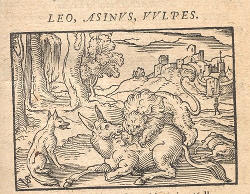 Leo, Asinus et Vulpes, Socii - Osius