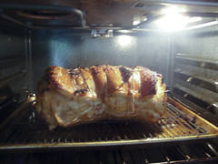 Porchetta - first 30 minutes