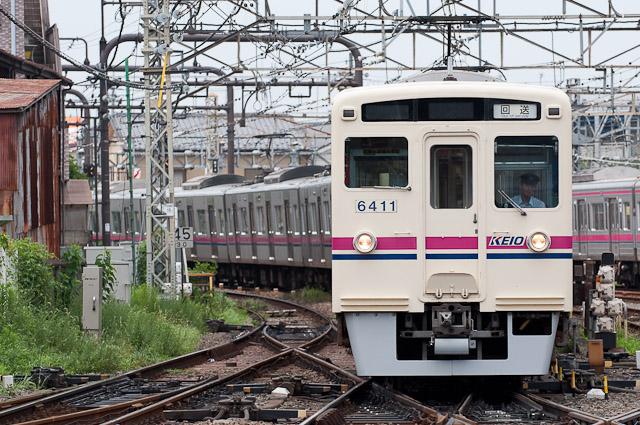 京王6000系6411F+京王9000系9001F