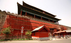 Forbidden City Walls 2 (David OMalley) Tags: china city red beauty architecture capital chinese beijing palace forbidden empire imperial  forbiddencity dynasty emperor  grandeur  verbotenestadt citinterdite    verbodenstad cidadeproibida cittproibita yasakehir chineseempire    ipinagbabawalnalungsod cmthnhph