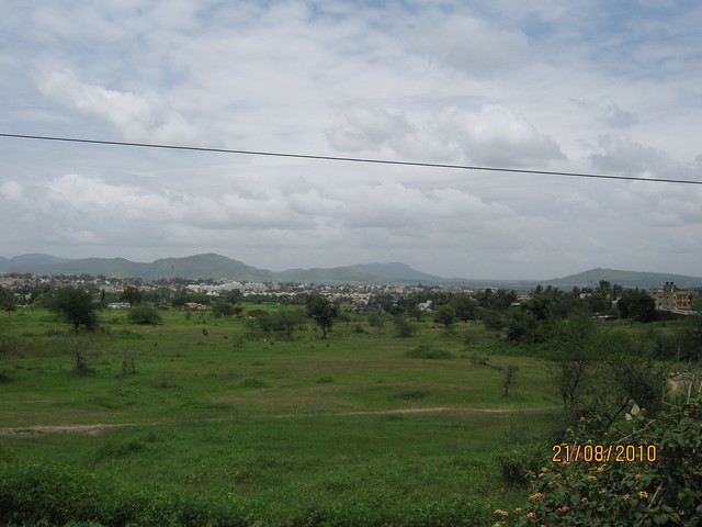 Talegaon from Old Mumbai Pune Highway (NH4)