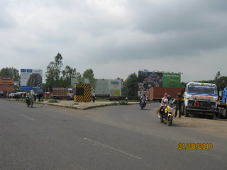 Talegaon Chakan Road Naka on Old Mumbai Pune Highway (NH4)